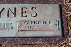 Gledith Pauline <I>Fielder</I> Baynes