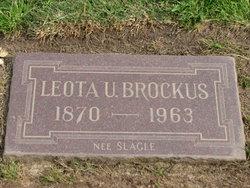 Leota Ulalia <I>Slagle</I> Brockus