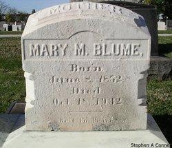 Mary Margaret <I>Zink</I> Blume