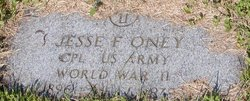Jesse F. Oney