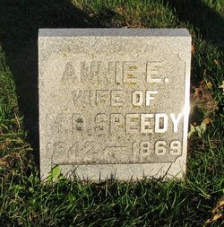 Annie E <I>Coates</I> Speedy