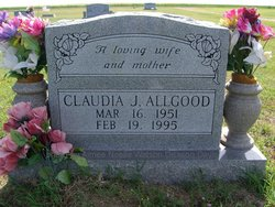 Claudia J. <I>Watson</I> Allgood