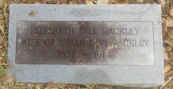 Sarah Elizabeth <I>Dill</I> Rackley
