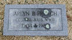 Col Arlyn Bryce French
