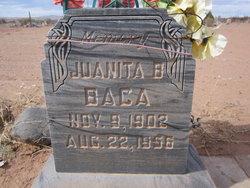 Juanita B Baca