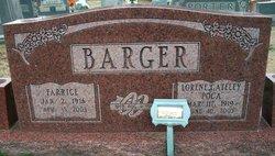 """Lorene """"Poca"""" <I>Gateley</I> Barger"""