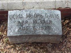 Doris <I>Moore</I> Davis