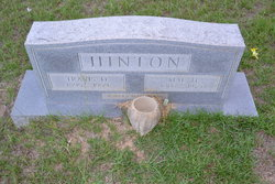 Annie Mae <I>Houston</I> Hinton