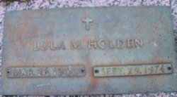 Lula Mae <I>Bishop</I> Holden