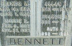 Allan H Bennett