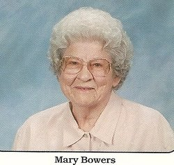 Mary Belle <I>Everhart</I> Bowers