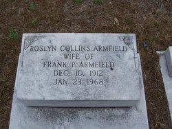 Roslyn <I>Collins</I> Armfield