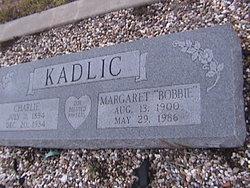 """Margaret """"Bobbie"""" <I>Treuthardt</I> Kadlic"""