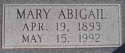 """Mary Abigail """"Abby"""" <I>Wilcox</I> Allridge Boatwright"""