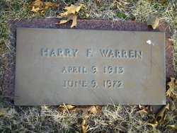 Harry F. Warren