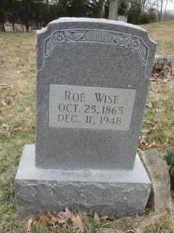 "Monroe ""Roe"" Wise"
