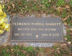 Florence <I>Powell</I> Barrett
