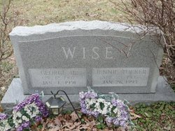 "Oma Jane ""Jennie"" <I>Tucker</I> Wise"