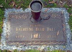 Kathryne <I>Morgan Reed</I> Huey