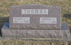 Bernice L <I>Walters</I> Thomas