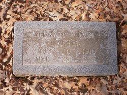 "Edward Irvin ""Buddy"" Carter"