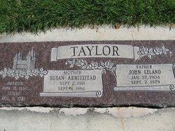 Susan <I>Armitstead</I> Taylor