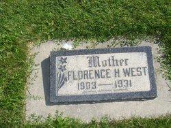 Florence E <I>Holdaway</I> West