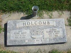 Roxie <I>West</I> Holcomb