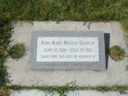 """Reba Mary """"Mickie"""" <I>McLean</I> Graham"""