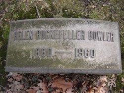 Helen Effie <I>Rockefeller</I> Bowler