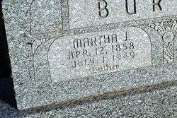 Martha J. <I>Shebel</I> Burton