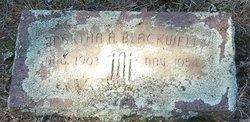Martha Anna <I>Lasater</I> Blackwell