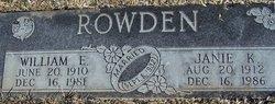 Jane Kate <I>Howard</I> Rowden