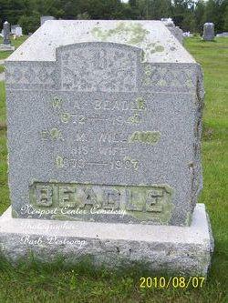 Eva M <I>Williams</I> Beadle
