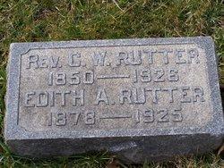 Rev Charles Wesley Rutter, Sr