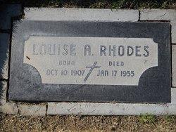 Louise A. Rhodes