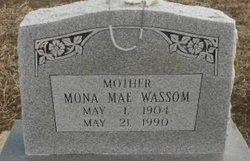 "Mona Mae ""Pokey"" <I>McDaniel</I> Wassom"