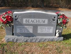 Dorothy <I>Martin</I> Beachum