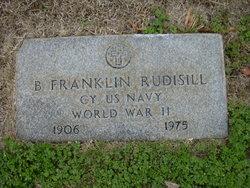 "Benjamin Franklin ""Frank or Bubber"" Rudisill, II"