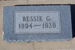 Bessie G <I>Hughes</I> Hodges