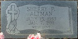 "Sherrill ""Sherry"" <I>Poston</I> Altman"