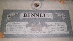 Alfred Senior Bennett