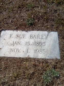 Fannie Sue Bailey
