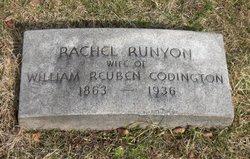 Rachel <I>Runyon</I> Codington