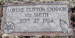 Lorene Clifton <I>Smith</I> Cannon