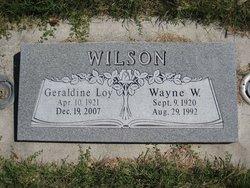 Wayne W Wilson
