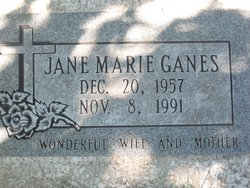 Jane Marie Ganes