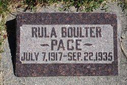 Rula Boulter Pace