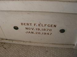 """Bertram F. """"Bert"""" Elfgen, Sr"""