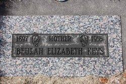 Beulah Elizabeth <I>Meserve</I> Keys